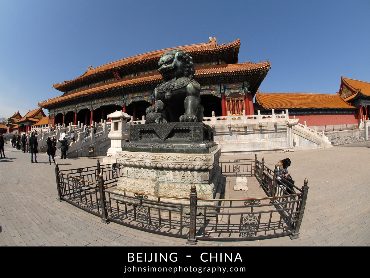 A photo montage by John Simone Photography on Beijing, China