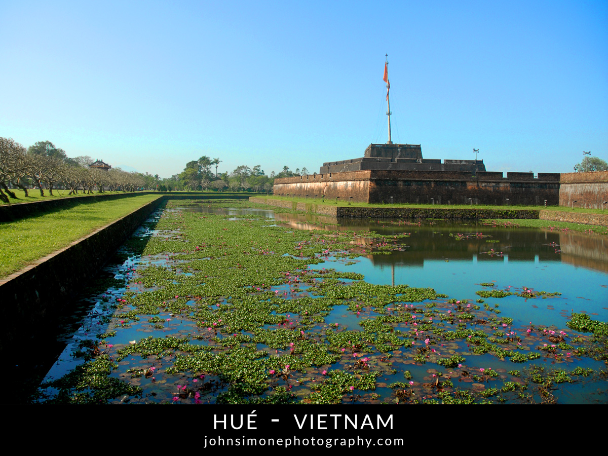 A photo montage by John Simone Photography on Hue, Vietnam