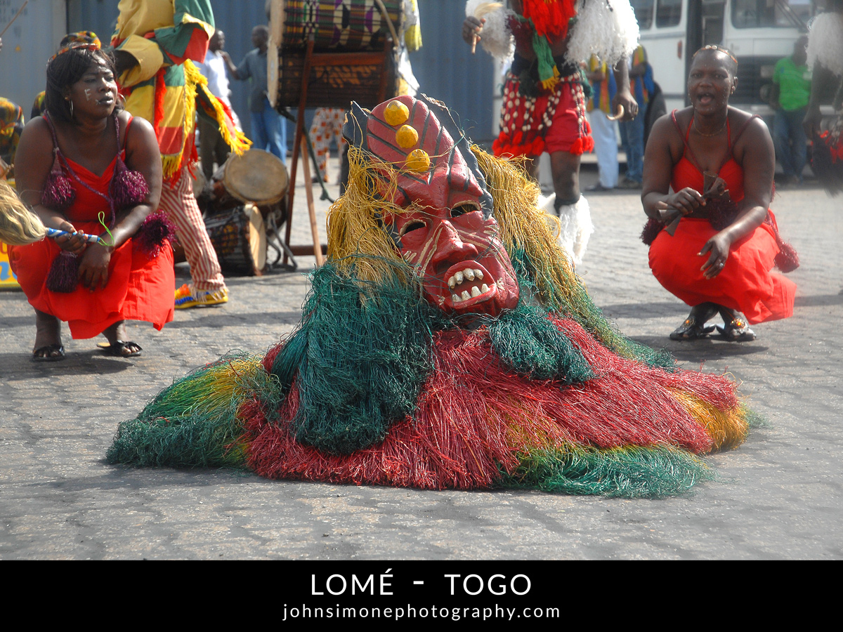A photo montage by John Simone Photography on Lome, Togo
