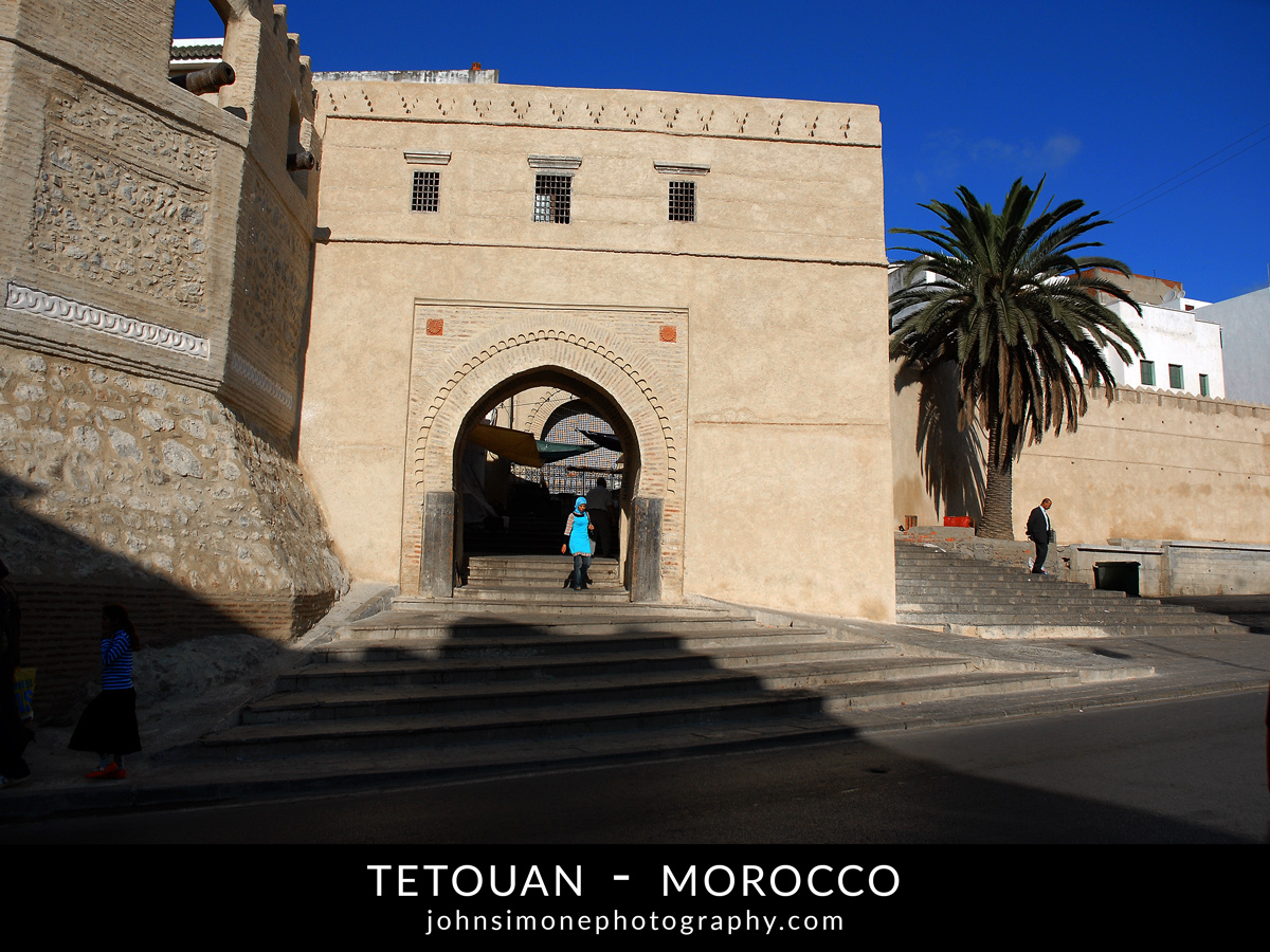 A photo montage by John Simone Photography on Tetouan, Morocco